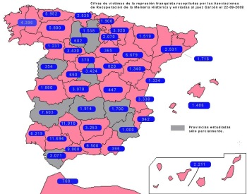 Desmontando las cifras de la Fundación Francisco Franco sobre la represión franquista