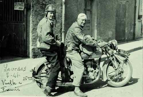 Boix_Tour-de-Francia 1951, último trabajo Boix como reportero Benito Bermejo