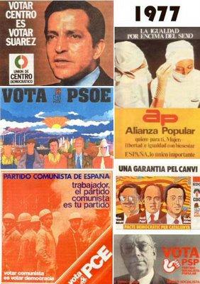 Cartel elecciones 1977