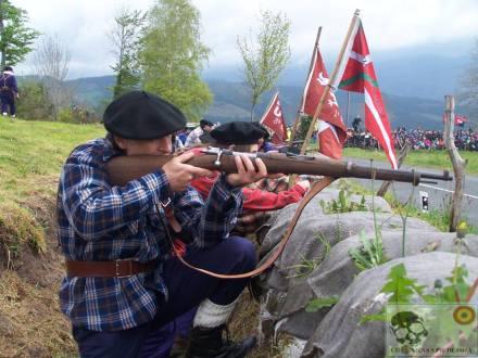 Recreación de la Batalla de los Intxortas en Elgueta. Crónicas a pie de fosa-WordPress 1